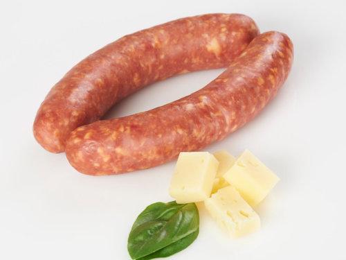 Roh- und Kochwürste Käsekrainer - 3 St. Metzgerei Hannes Mair